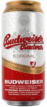 Пиво Будвайзер Будвар ж/б или Пивной напиток б/а Хейнекен 0.0 пастериз. ж/б — что лучше