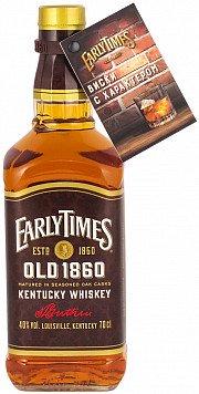 Виски Ирли Таймс Олд 1860 не менее 3 лет зерновой — отзывы покупателей