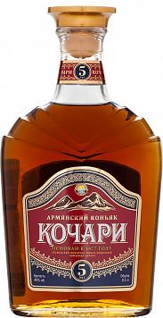 Коньяк Кочари 5 лет или Грузинский коньяк Старый Кахети 3 года — что лучше