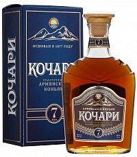 Коньяк Армянский Кочари 7 лет подарочный — отзывы покупателей