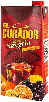 Вин. напиток Сангрия Эль Курадор — отзывы покупателей