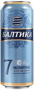 Пиво Балтика №7 светлое ж/б или Пивной нап. Эсса ананас/грейпфрут ст — что лучше