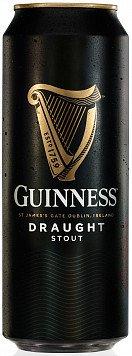Пиво Гиннесс Драфт темное с азотной капс.ж/б — отзывы покупателей