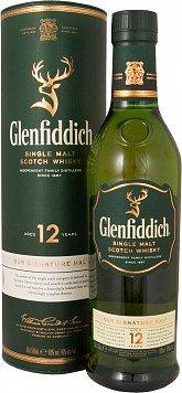 Виски Гленфиддик 12 лет туба — отзывы покупателей
