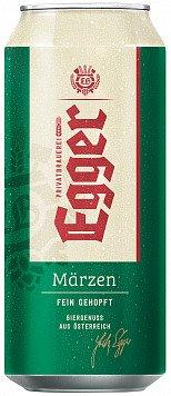 Пиво Еггер Марцен светлое ж/б — отзывы покупателей