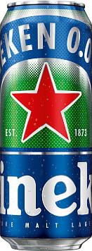 Пивной напиток б/а Хейнекен 0.0 пастериз. ж/б — отзывы покупателей