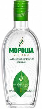 Водка Мороша на мин.воде №1 или Виноградная водка Фанагория Чача Особая — что лучше