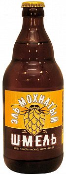 Пиво Эль Мохнатый Шмель светлое ст. — отзывы покупателей