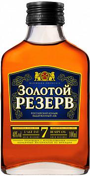 Российский коньяк Золотой Резерв — отзывы покупателей